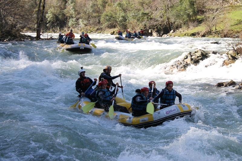 rafting en el sella II | raftingasturias.es