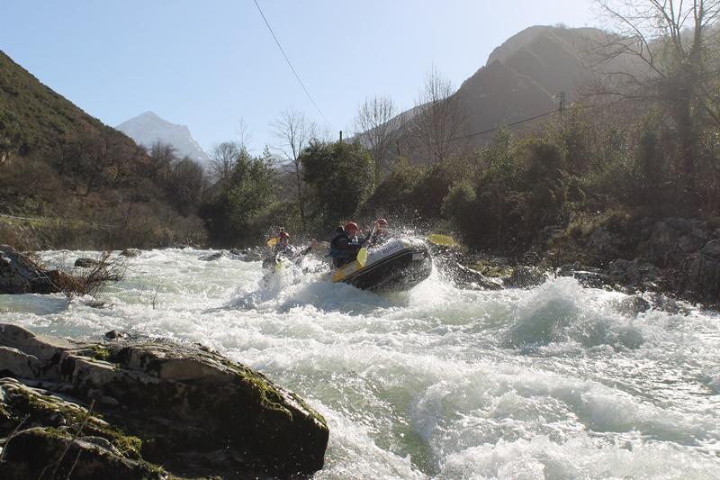 rafting en el Sella III | raftingasturias.es