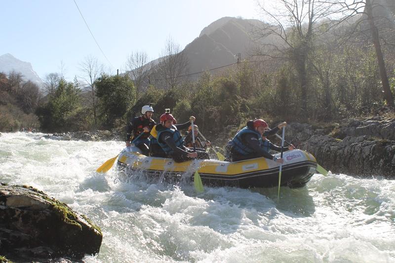 rafting en el sella IV | raftingasturias.es