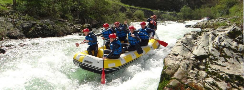 recomendaciones rafting en asturias