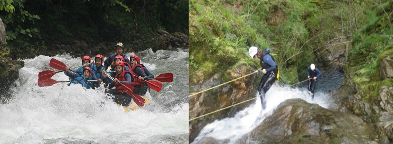 rafting + descenso de barrancos | raftingasturias.es